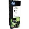 Cartus original HP GT51XL Black ink Bottle 6k X4E40AE
