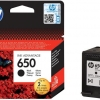 Cartus original HP 650 Black Ink CZ101AE