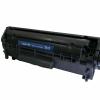 Cartus compatibil HP Q2612A XL FX10 Canon 703 nou 3000 pagini